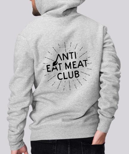 Anti Eat Meat Club Basic Unisex Hoodie