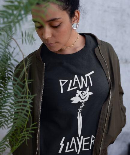 Plant Slayer Ladies Organic Sweatshirt
