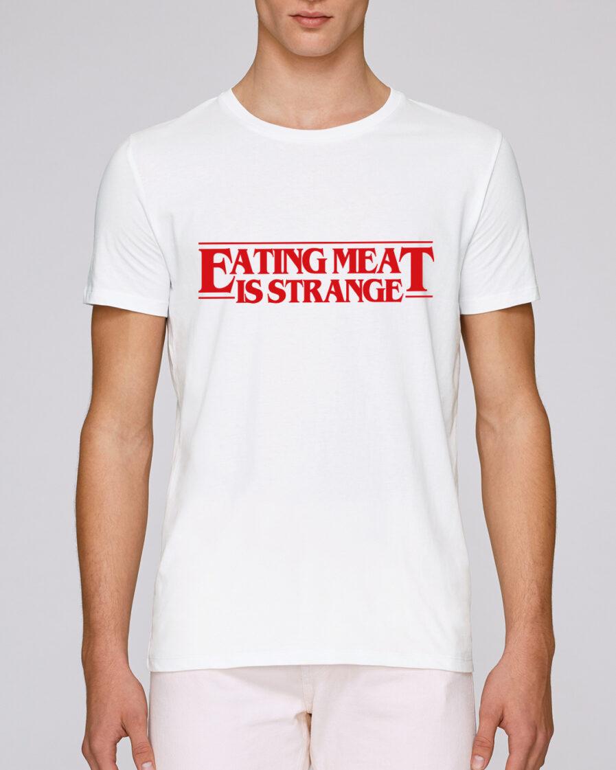 Eating Meat Is Strange Organic Shirt