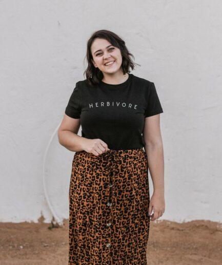 Herbivore T-Shirt für Frauen
