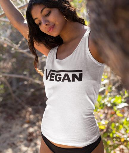 Vegan Ladies Organic Tank-Top