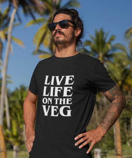 live life on the vega organic shirt