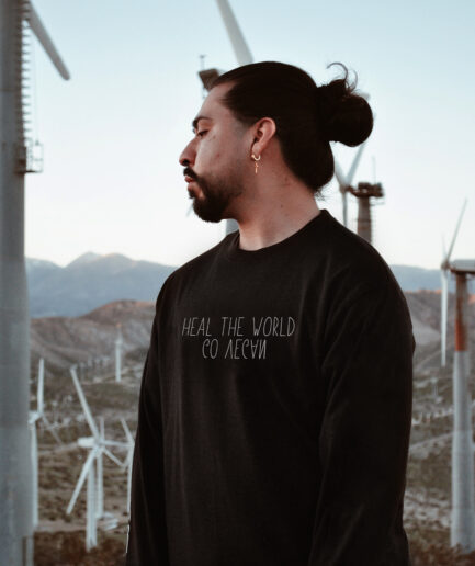 Heal The World Organic Sweatshirt