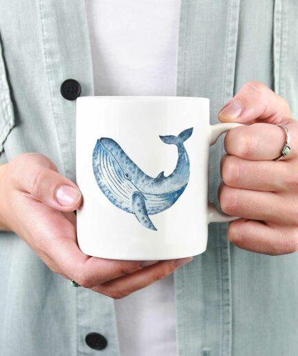 Tasse im Wal Design