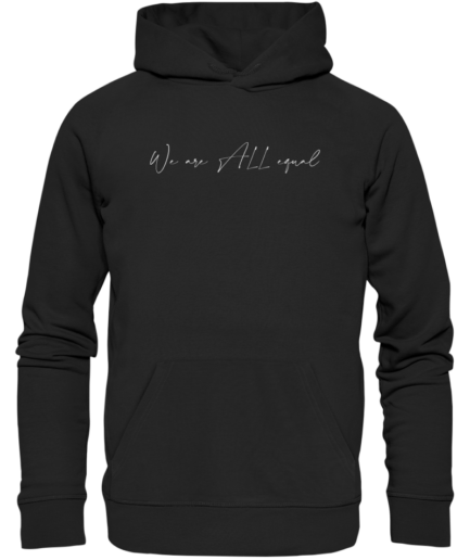 we-are-all-equal-organic-hoodie-schwarz