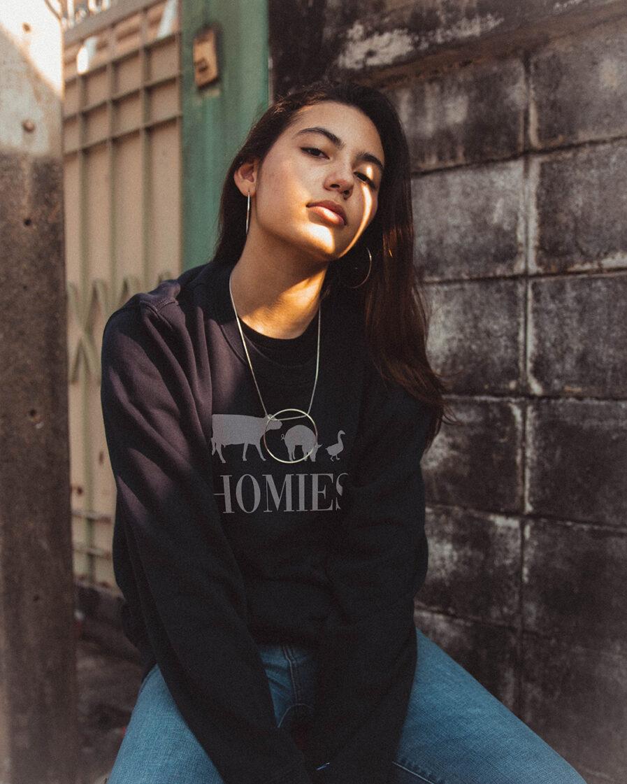 Homies Ladies Organic Sweatshirt