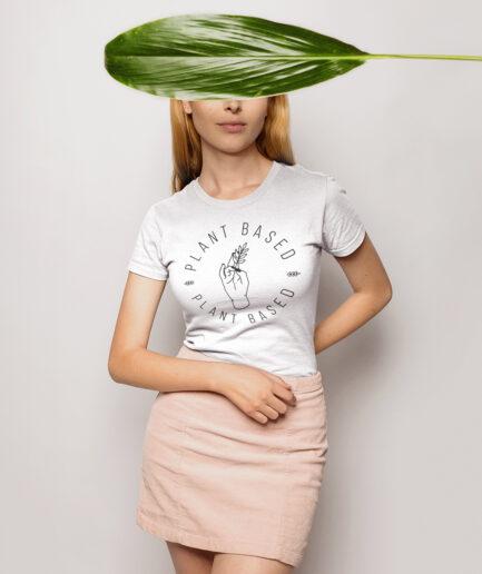 Plant Based Ladies Organic Shirt