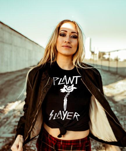 Plant Slayer Ladies Organic Shirt