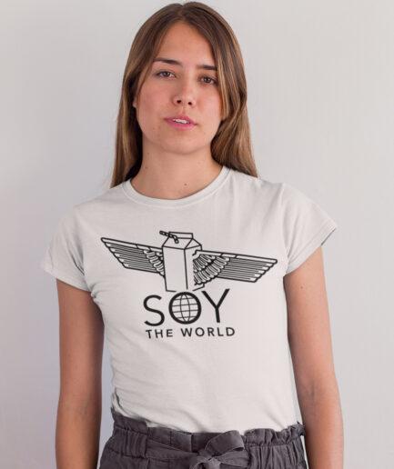 Soy the world Ladies Organic Shirt