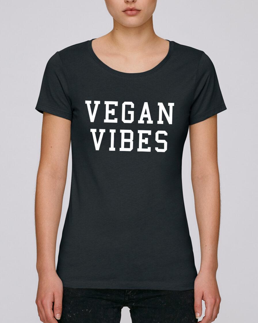 Vegan Vibes Ladies Organic Shirt