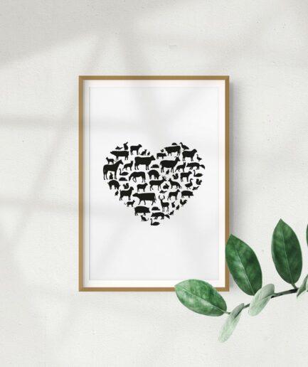 Animal Love Poster