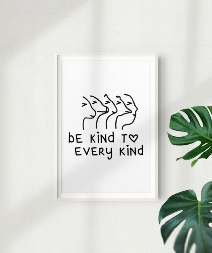 Be Kind To Every Kind Poster