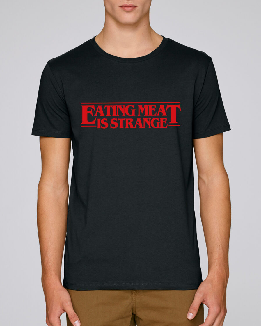 Eating Meat Is Strange Organic Shirt