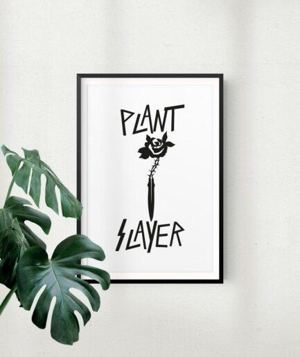 Plant Slayer Poster