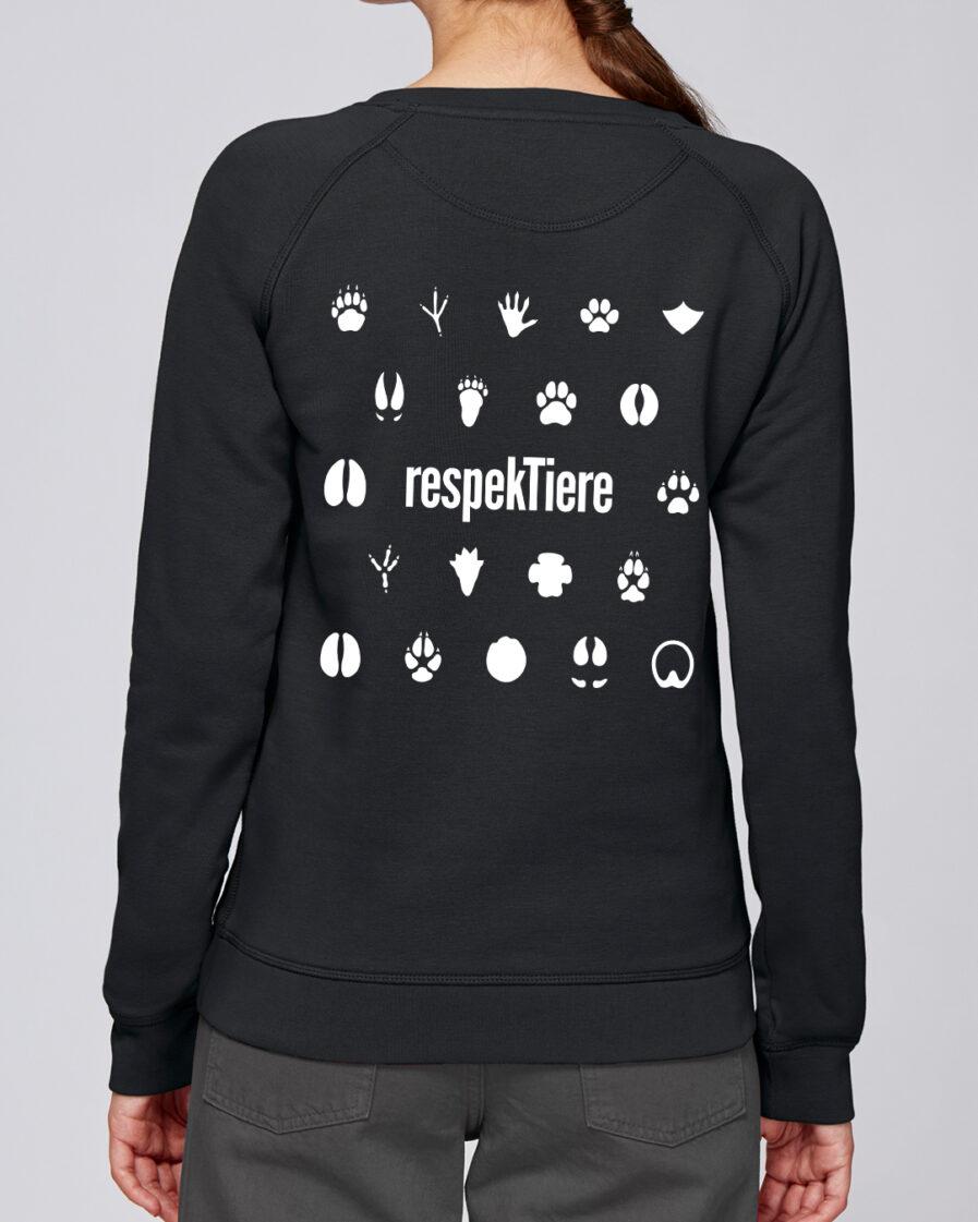 RespekTiere Ladies Organic Sweatshirt