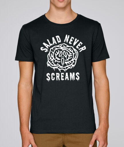 Salad Never Screams Organic Shirt