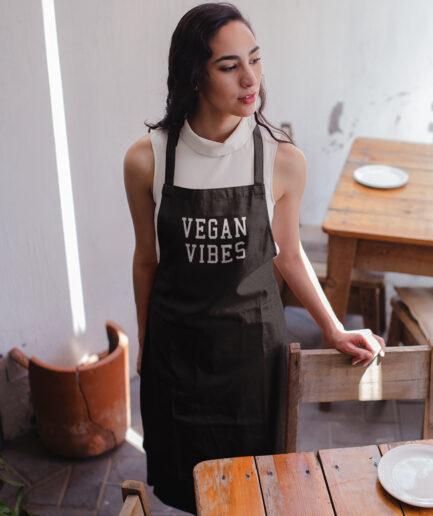 Vegan Vibes Kochschürze