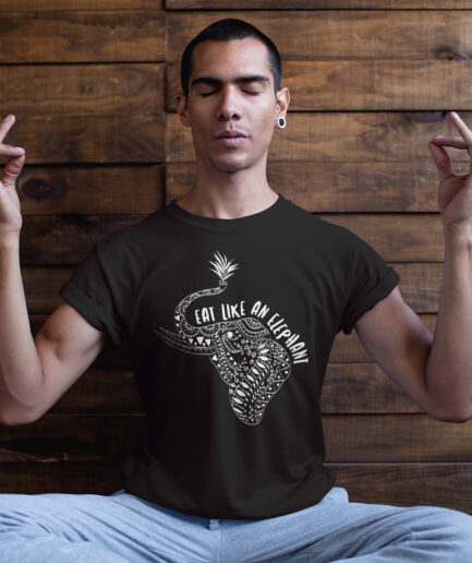 Eat Like An Elephant Organic Shirt