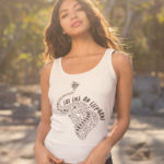 Eat Like An Elephant Ladies Organic Tank-Top