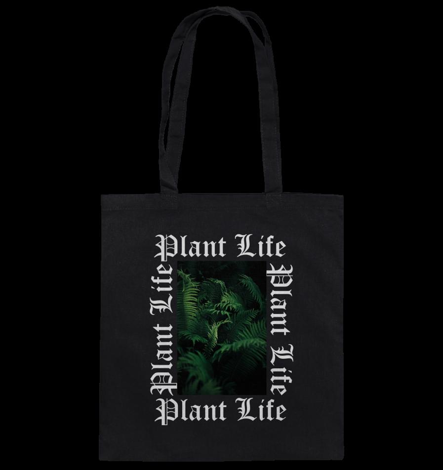 Plant Life Baumwolltasche
