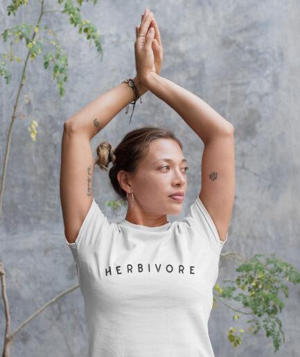 Herbivore Tailliertes Organic Shirt