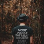 Most People Eat Meat Organic Shirt