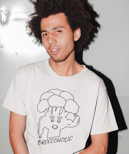 broccoholic organic shirt