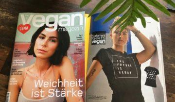 Unsere Statement Shirts im Vegan Magazin