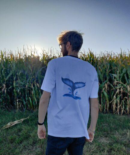 walflosse organic shirt weiss