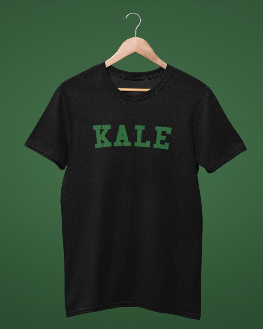KALE organic shirt black