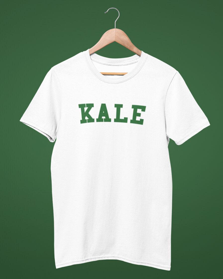 KALE organic shirt white