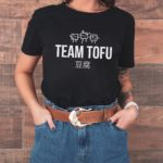 Team Tofu Tailliertes Organic Shirt