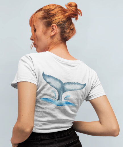 walflosse ladies organic shirt white