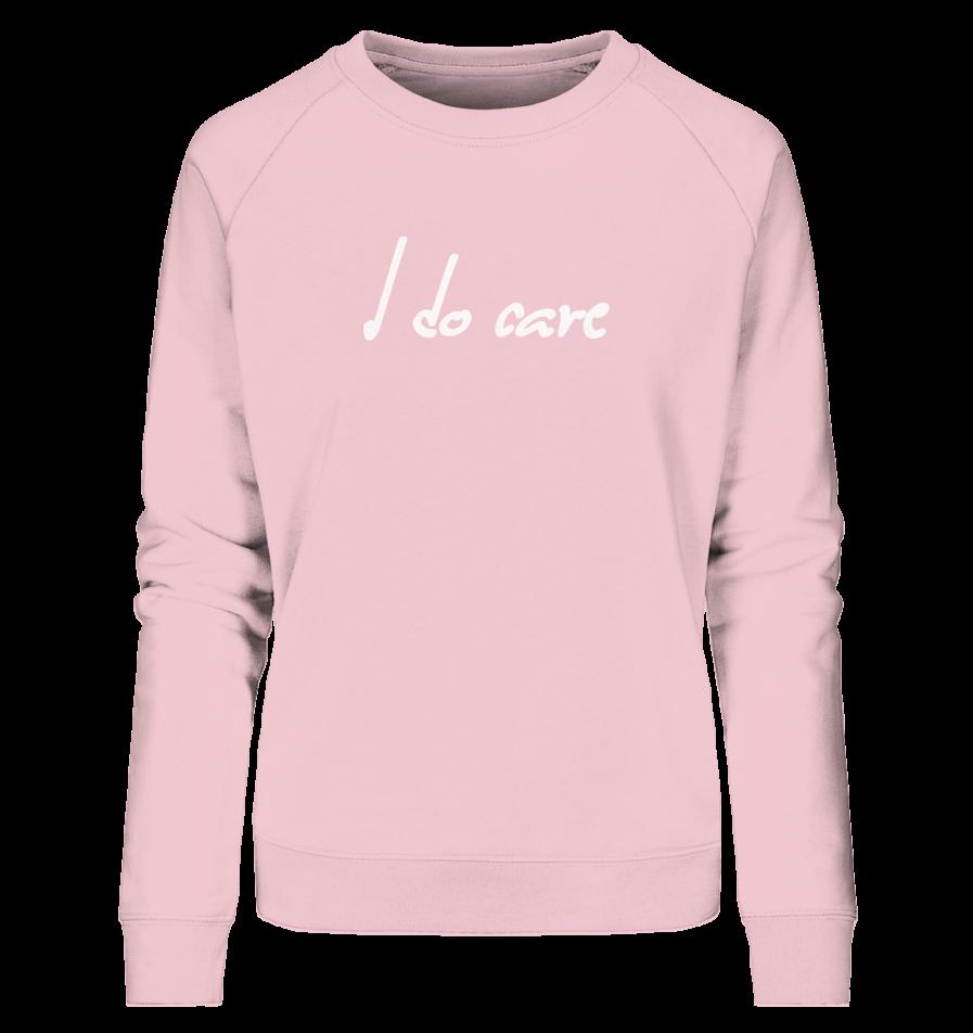 i-do-care-ladies-organic-sweatshirt-pink