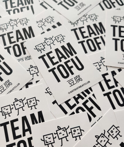 Team Tofu Sticker