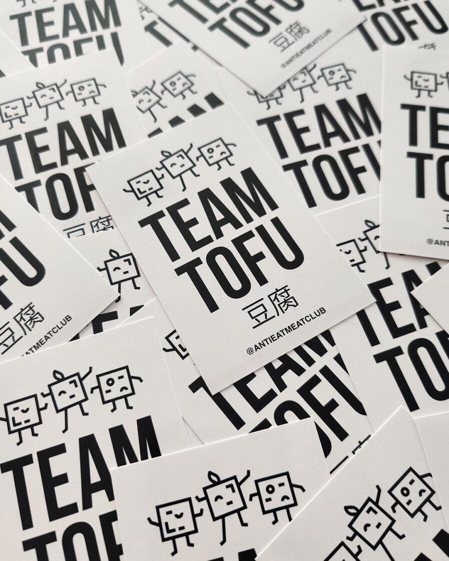 Team Tofu Sticker