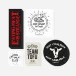 Vegan Sticker Set