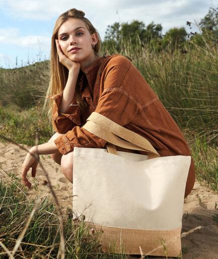 Baumwoll-Einkaufstasche