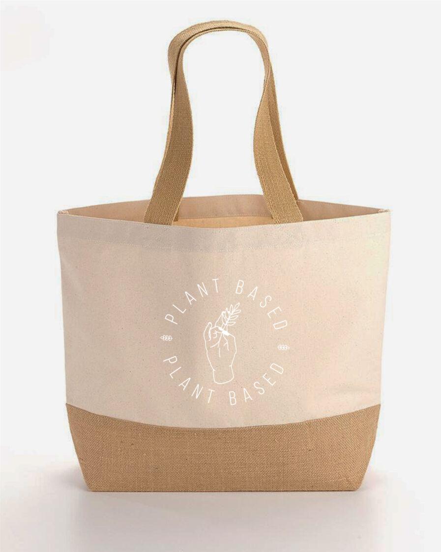 Plantbased-Baumwoll-Einkaufstasche