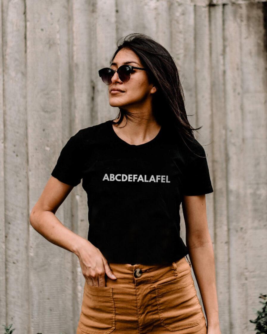 ABCDEFALAFEL Ladies Organic Shirt