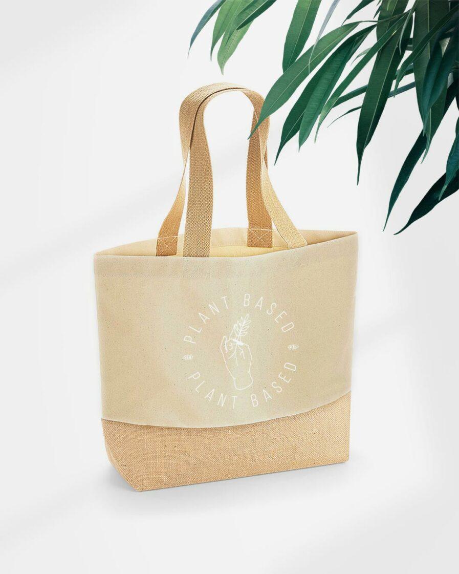 Plantbased Baumwoll Einkaufstasche