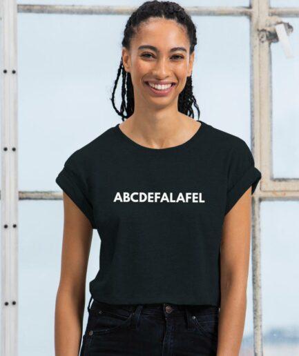 ABCDEFALAFEL Organic Crop Top