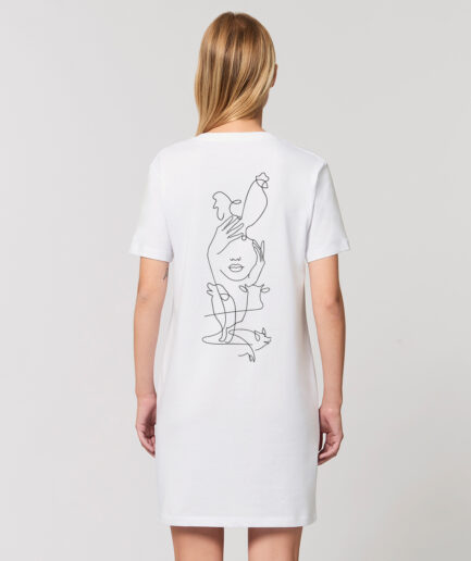 Equality T-Shirt-Kleid