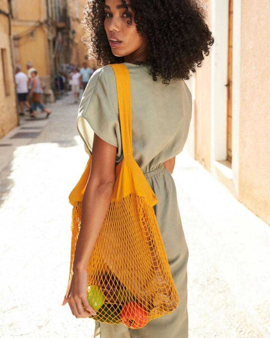 Organic Einkaufsnetz-Tasche