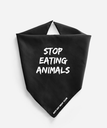 Stop Eating Animals Fair Trade Bandana
