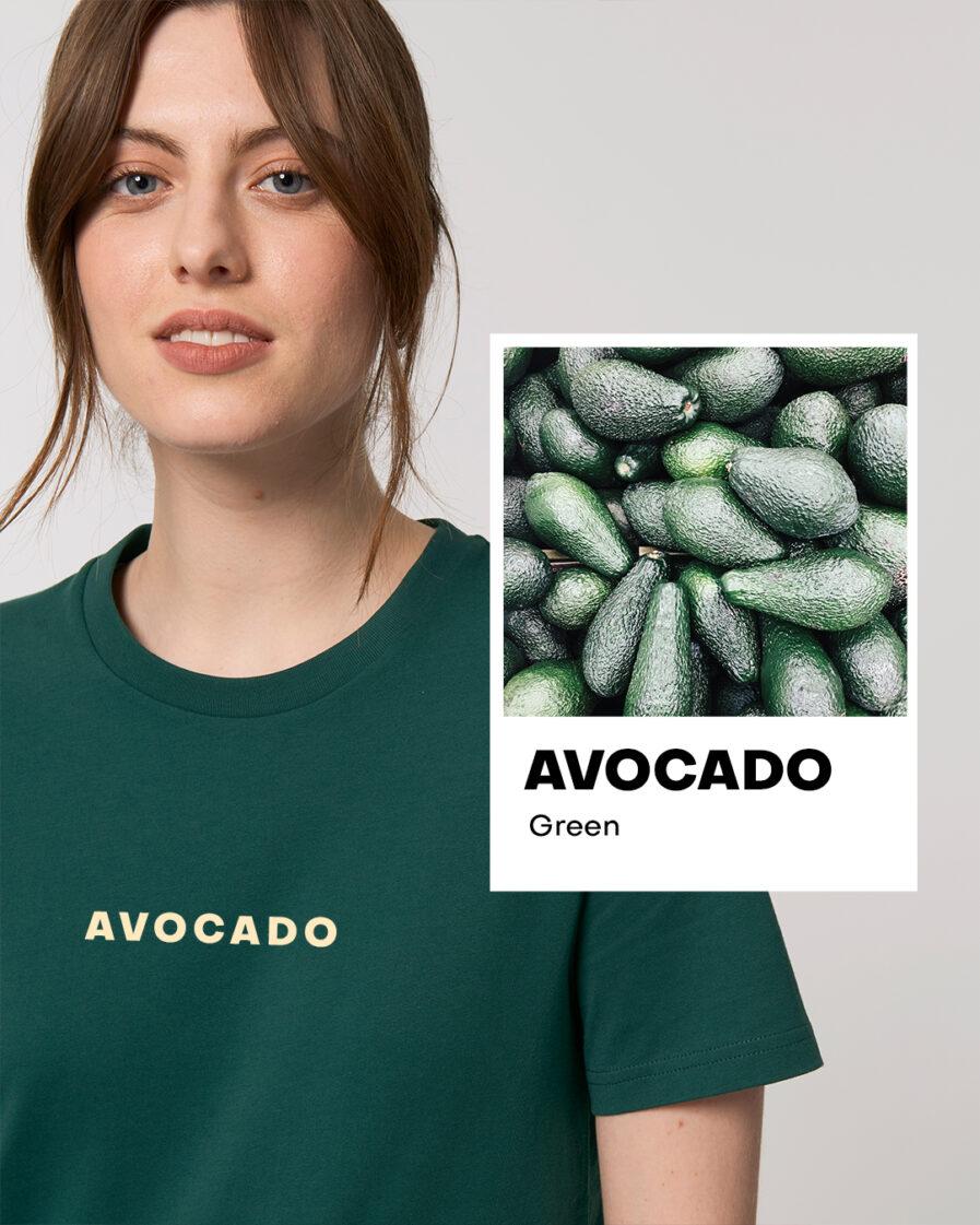 Avocado Green Basic Organic Unisex Shirt