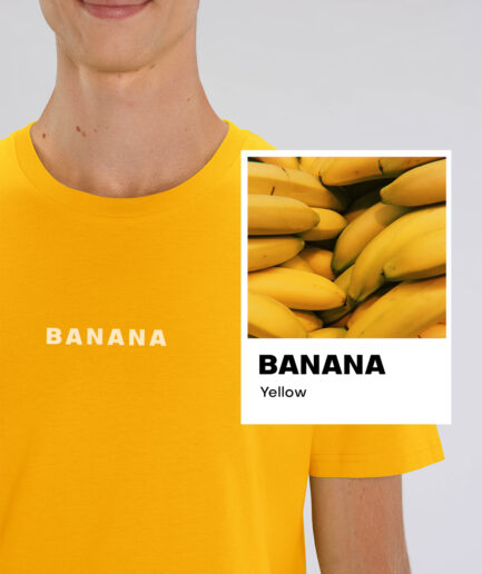 Banana Yellow Essential Organic Unisex Shirt