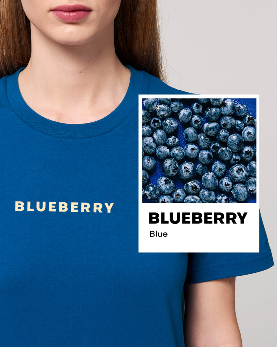 Blueberry Blue Essential Organic Unisex Shirt