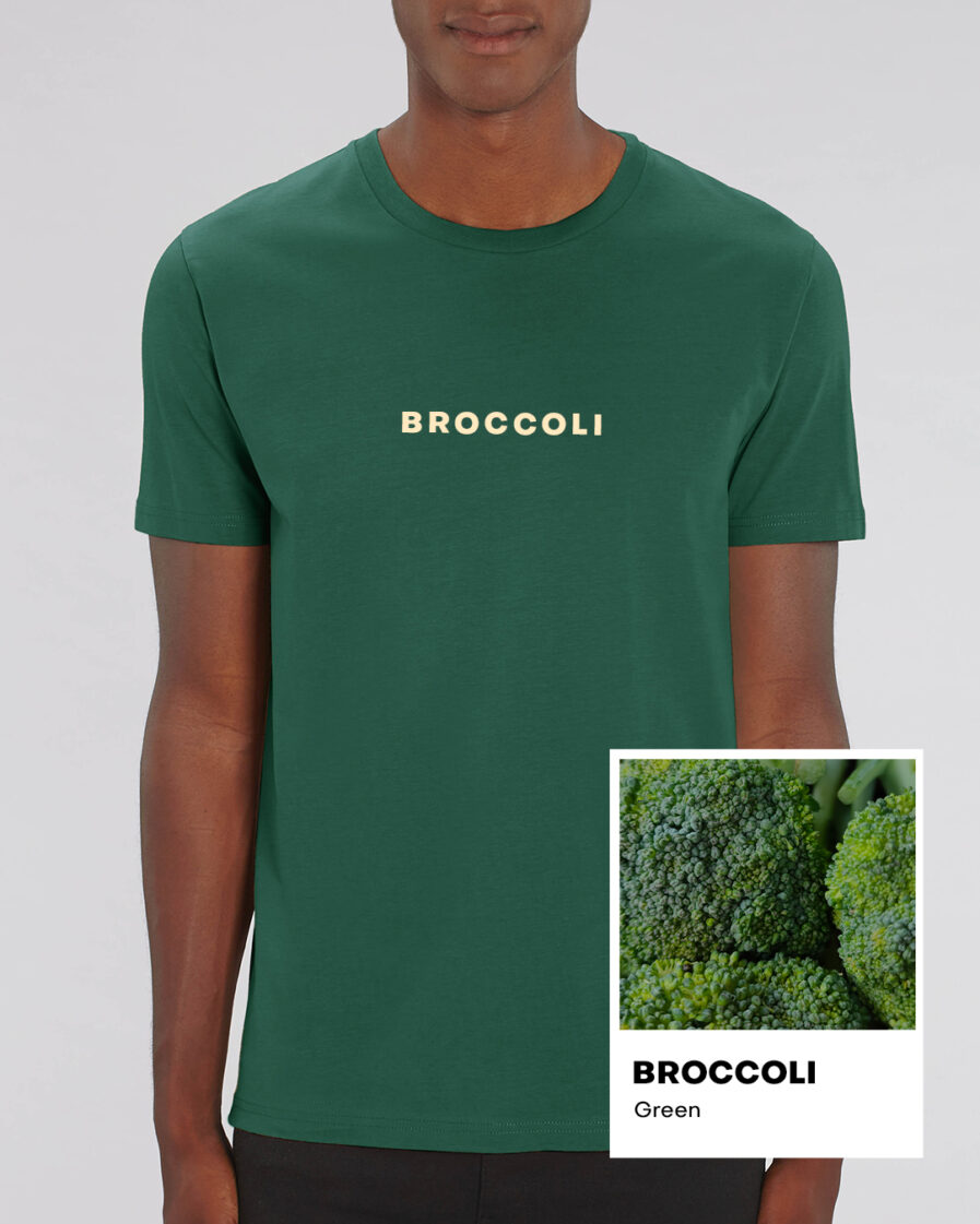 Broccoli Green Essential Organic Unisex Shirt
