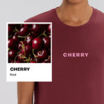 Cherry Red Essential Organic Unisex Shirt